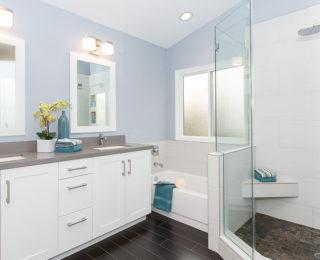 Budget Friendly Master Bathroom Remodel