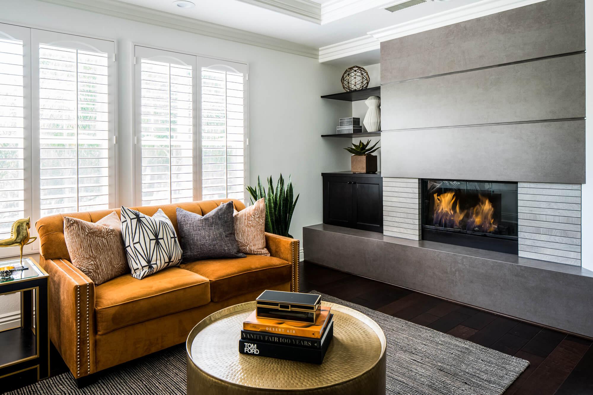 Coto de Caza Remodeled Sitting Room, Remodeled Master Suite, Remodeling Orange County