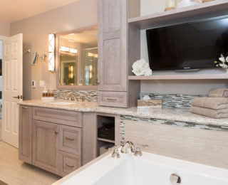 Rejuvenating Master Bathroom Design