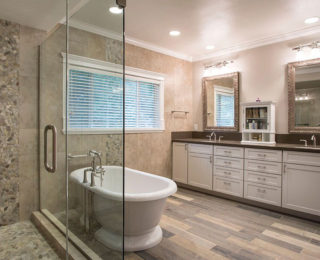 Modern Master Bathroom Touches