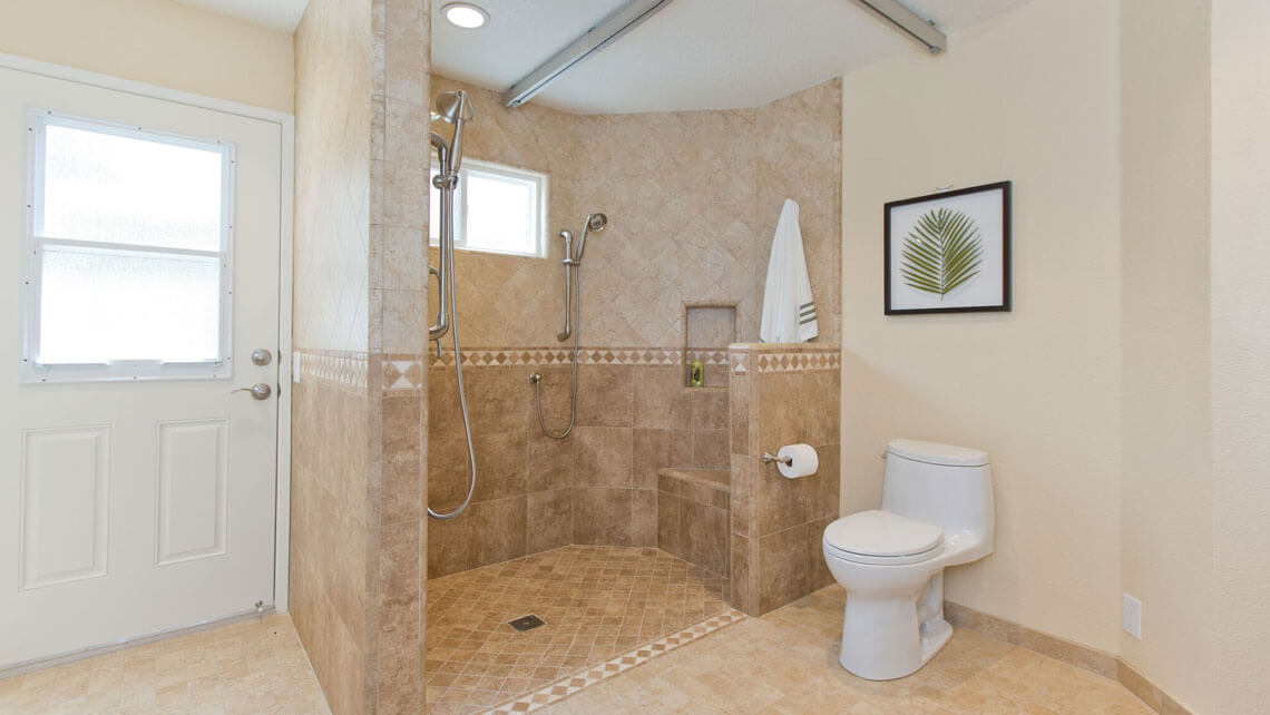 Universal Design Master Bathroom