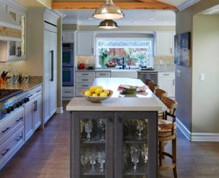 Rustic Irvine Kitchen Remodel