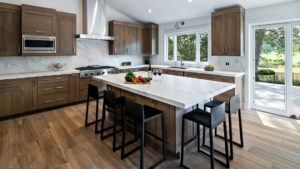 Large White Kitchen Island, Large Open Kitchen Design, Open Kitchen Design in Dana Pointe