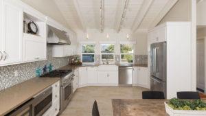 White Beach Home, Beach Home in Southern California, Laguna Niguel Kitchen Remodel