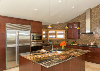 Contemporary Kitchen in Laguna Beach