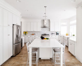 White Kitchen Remodel