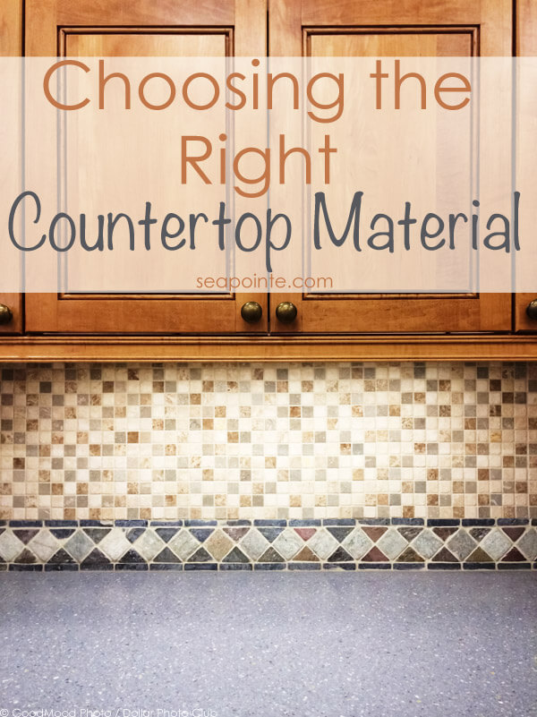 Choosing the Right Countertop Material for Your Needs | Sea Pointe Construction Blog