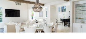 All White Living Area, California Home Design Build, Southern California Home Designers