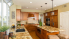 Comfortable Kitchens, Warm Kitchens, Granite Counters in Kitchen