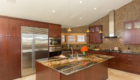 Large Kitchen Island, Dark Kitchen Design, Dark Wood Kitchen Design