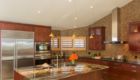 Custom Display Kitchen Cabinets, Laguna Beach Kitchen Remodeling, Stone Countertops