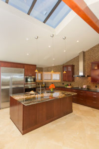 high vaulted ceilings in kitchen gives a large open feeling, Sea Pointe Construction