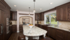 Extra Large Kitchen Island, Kitchen Prep Area, Irvine Home Remodeling