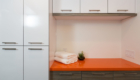 Orange Countertop, Quartz, Laundry Room
