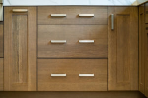 Fully Custom Kitchen Drawers to Accommodate Growing Family and Active Lifestyle