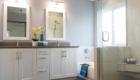 White Bathroom Vanity, Bathroom Remodel, Orange County Bathroom Remodeling