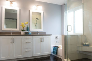 Simple and Budget Conscious Master Bathroom Remodel