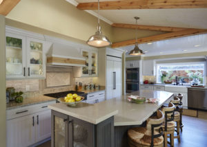 Sea Pointe Construction unusually shaped kitchens