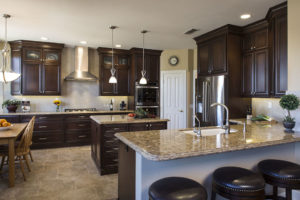 Traditional Kitchen Design Completed in Orange County California