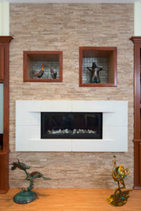 Family Room Fireplace Renovation