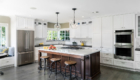 Transitional Newport Beach Kitchen Remodel, Newport Beach California, Custom Cabinets