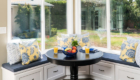 Bay Windows, Kitchen Dining Area, Orange County Home Remodeling