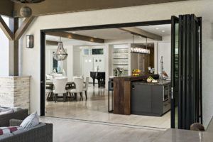Large Sliding Glass Doors are Perfect for Indoor Outdoor Entertaining