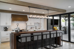 Entertainment Kitchen Designed and Built For Clients in Orange California