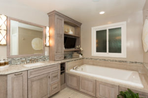 Custom Cabinetry, Master Bathroom Design in Orange County California