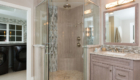 Open Shower Design, Open Bathroom Design