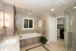 Orange County California Master Bathroom Design