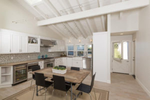 Kitchen and Eating Area Designed for Beach Home