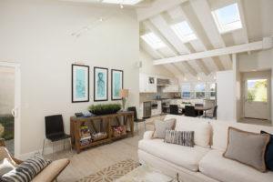 Living Area of a Laguna Niguel Beach Home