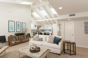 Orange County California Renovated Beach Home with Vaulted Ceilings
