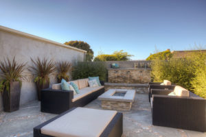 Outdoor Living Area at Dana Hills Beach House