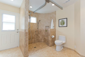 Aging in Place Bathroom Custom Build