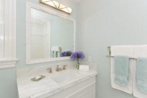 Orange County Beach House Bathrooms