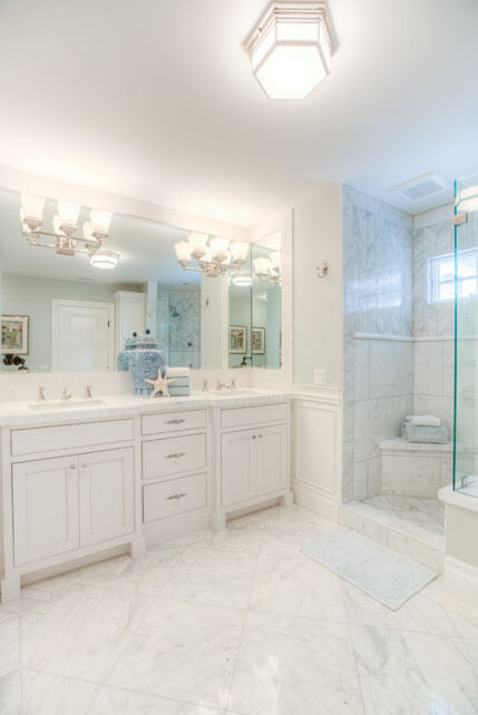 Newport Beach Guest Bathroom Remodel