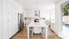 Popular White Kitchen Design, White Kitchen in California, White Kitchen