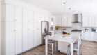 All White Kitchen, White and Blue Kitchen, Kitchen Remodeling