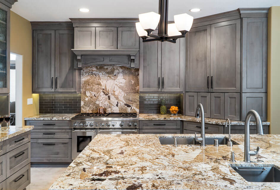 Gray Trabuco Canyon Kitchen | Sea Pointe Construction on blue gray countertops, orange gray wall cabinets, orange gray paint, silver gray countertops, orange gray carpet, orange gray kitchen, charcoal gray countertops, orange gray bathroom,