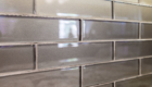 Gray Backspash, Backspash Ideas, Glass Backsplash Ideas