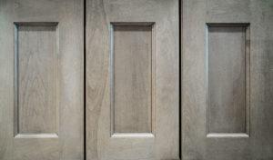 gray kitchen cabinets, Sea Pointe Construction