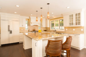Glowing Gold Kitchen Design