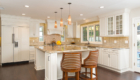 Kitchen Island, Eating Area in Kitchen, California Kitchen