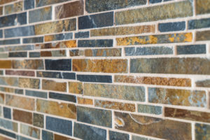 Stone Backsplash, Blue Stone Backsplash, Backsplash Replacement