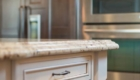 Cabinet Detail, Edge Detail, Kitchen Island