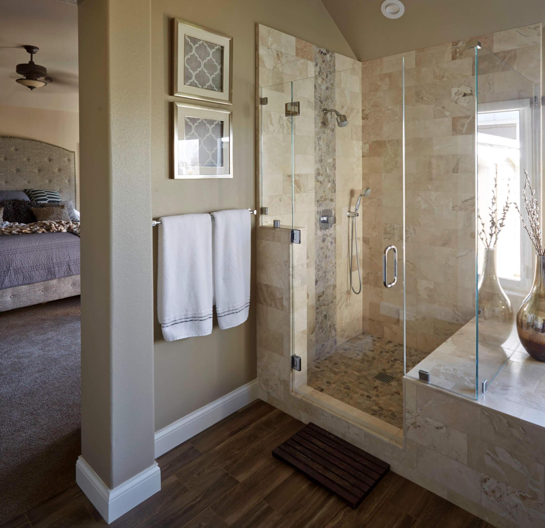 Luxury Shower Renovation, Shower Renovation, Huntington Beach Home Renovation Companies