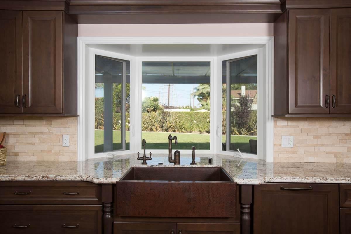 Large Window in Kitchen, Updating Kitchen Windows, Kitchen Remodeling in Orange County