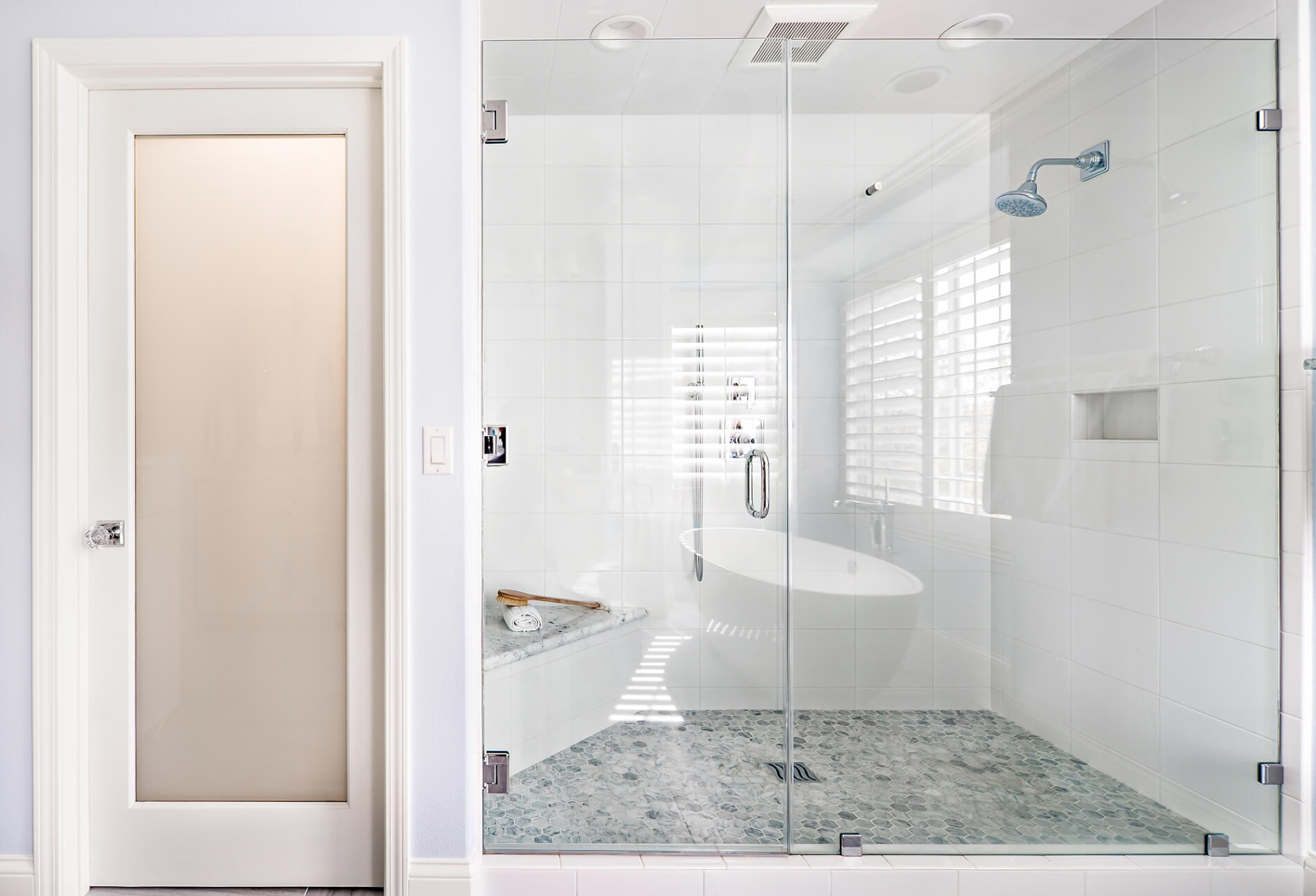 Luxury Shower Remodeling, Glass Shower Doors Remodeling, Remodeling a Bathroom